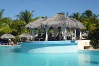 Hotelanlage im Urlaub